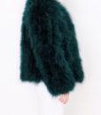 Fluffy Fur Fever Forest Green Side 2