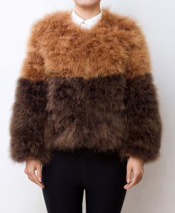 Fluffy Fur Fever Jacket Late Autumn Day Front