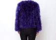 Fluffy Fur Fever Jacket Lavender Purple Back