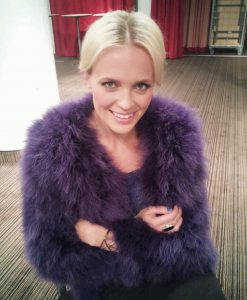 Fluffy Fur Fever Jacket Lavender Purple Cover