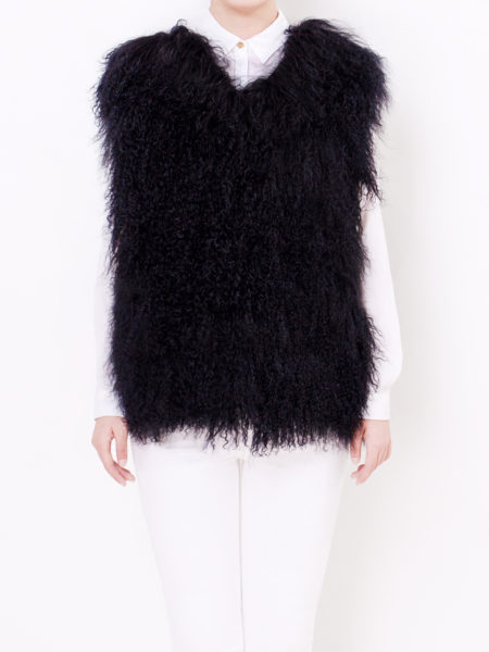 mongolian-fur-vest-black-front