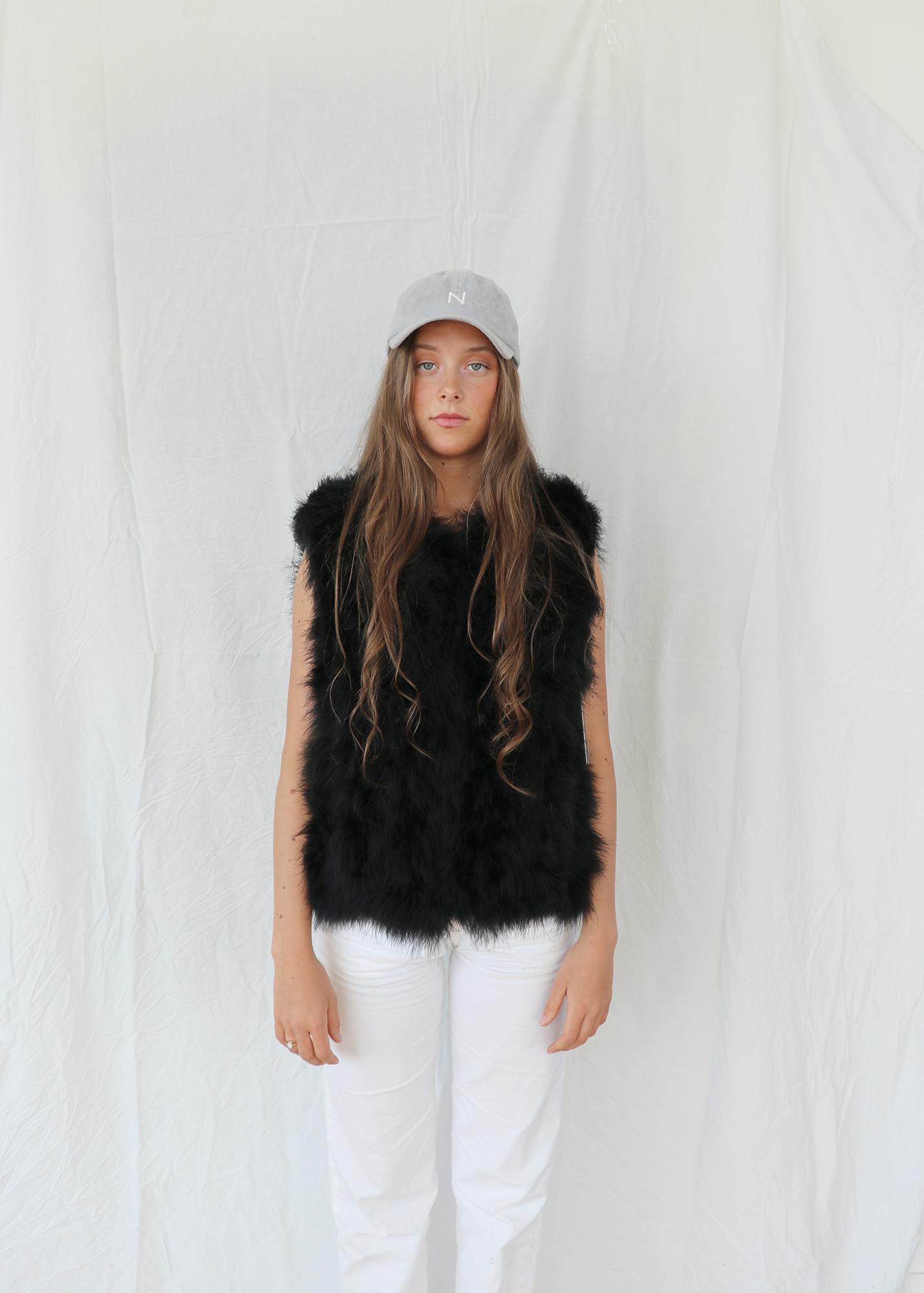 fc96f315a918 The Classic Feather Collection / Fluffy Feather Fever Vest