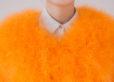 Fluffy Fur Fever Jacket Fuzzy Orange Details