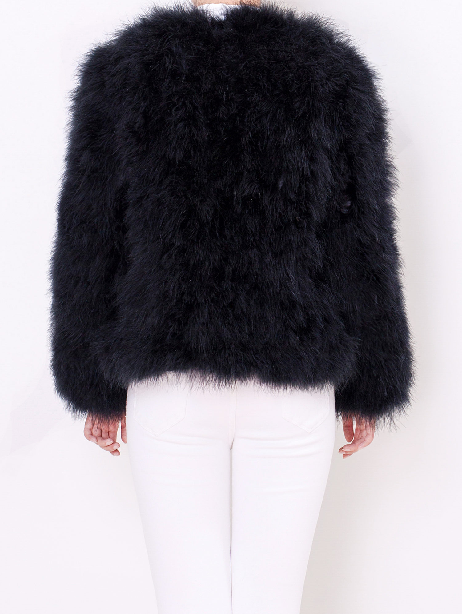997453a69ff8 The Classic Feather Collection / Fluffy Feather Fever Jacket