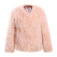 Fluffy Fur Fever Jacket Sweet Apricot Packshot
