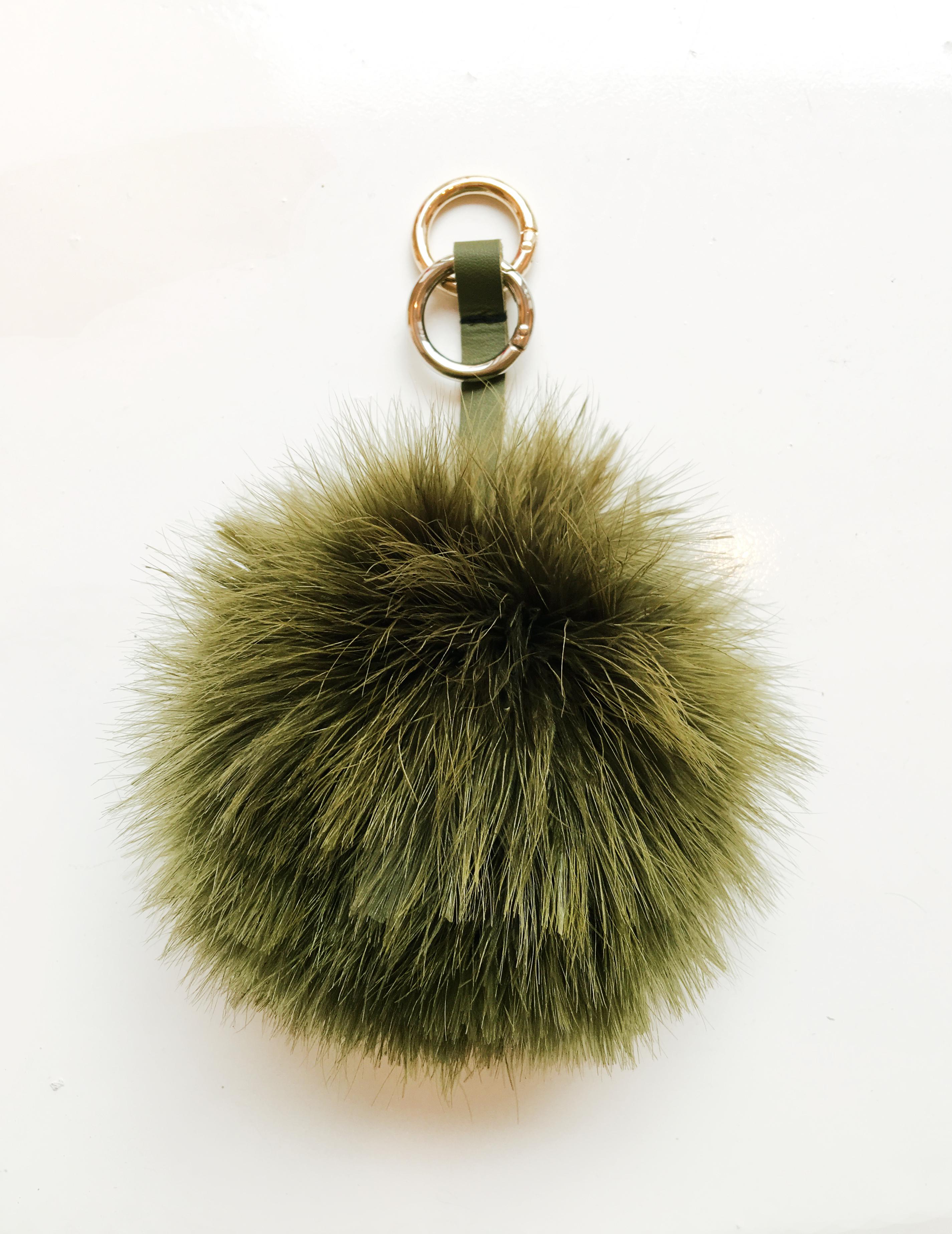Fluffy Fur Fever Bag Chain