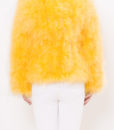 Fluffy Fur Fever Jacket Rubber Duck Yellow Back