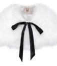 Fluffy Fur Cape Snow White