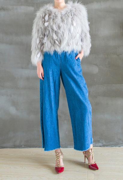 3D Mosh Fur Coat Front 1
