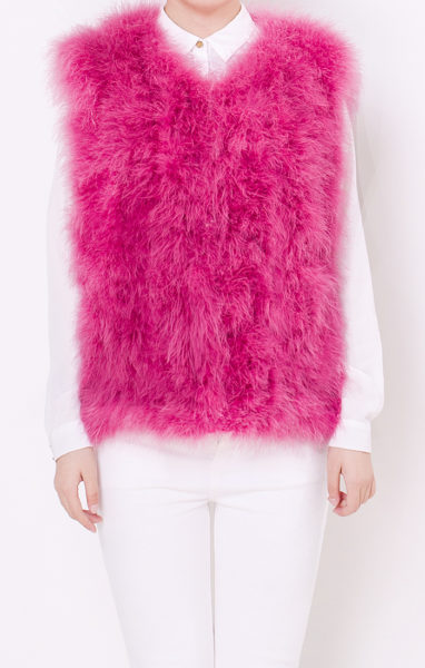 fluffy-fur-fever-vest-raspberry-pink-front