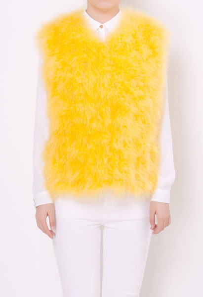 fluffy-fur-fever-vest-rubber-duck-yellow-front