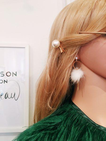 Rocky Pom Pom Earrings Cover