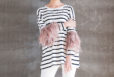 Feather Arm Tee Dress Cover 2