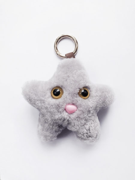 Miss Star Bag Chain Light Grey
