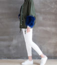 Utility Feather Cuff Jacket Side