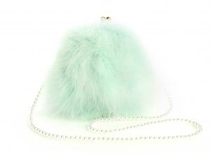Mint Green Pearl Bag