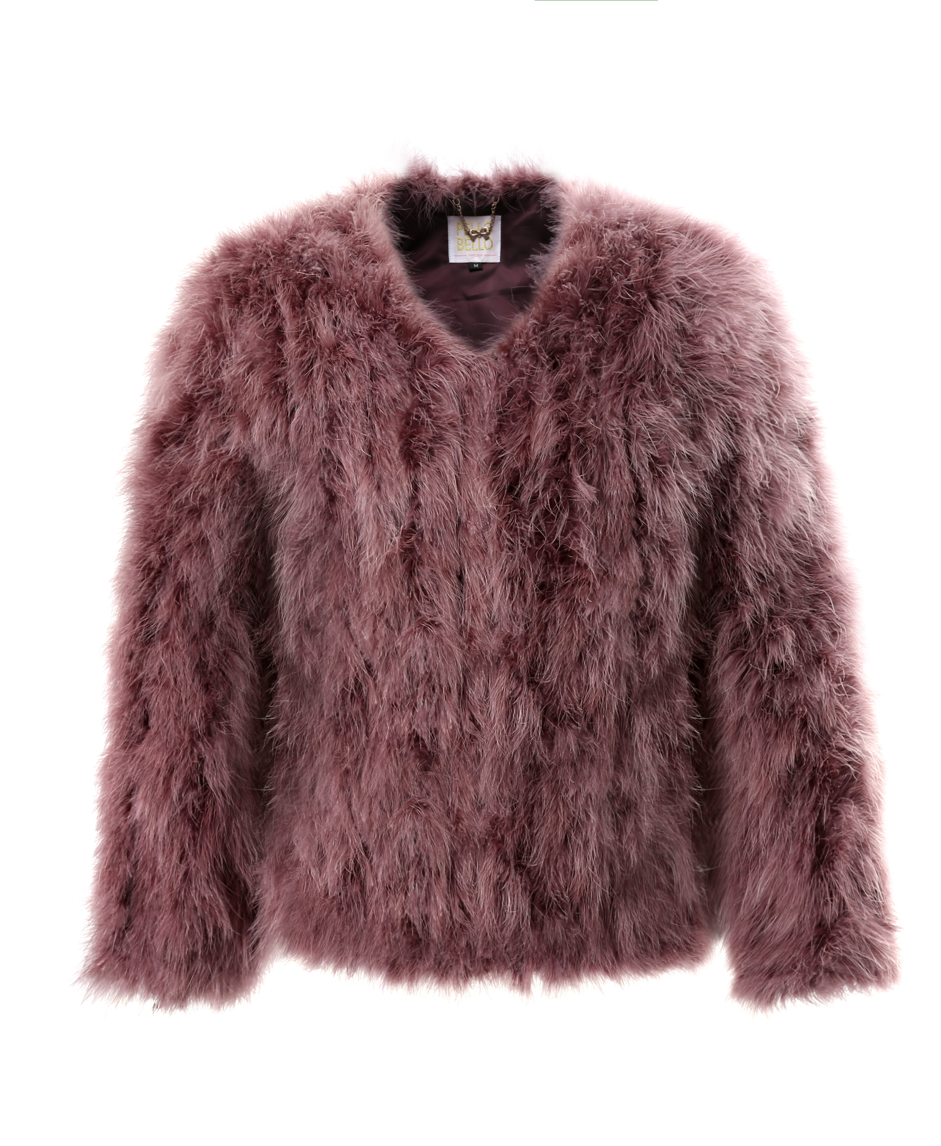 Fluffy Fur Fever Jacket Dusty Rose